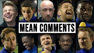That's harsh! Hashtag United players react to mean YouTube comments