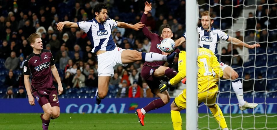 West Brom fans love Ahmed Hegazi recovery video