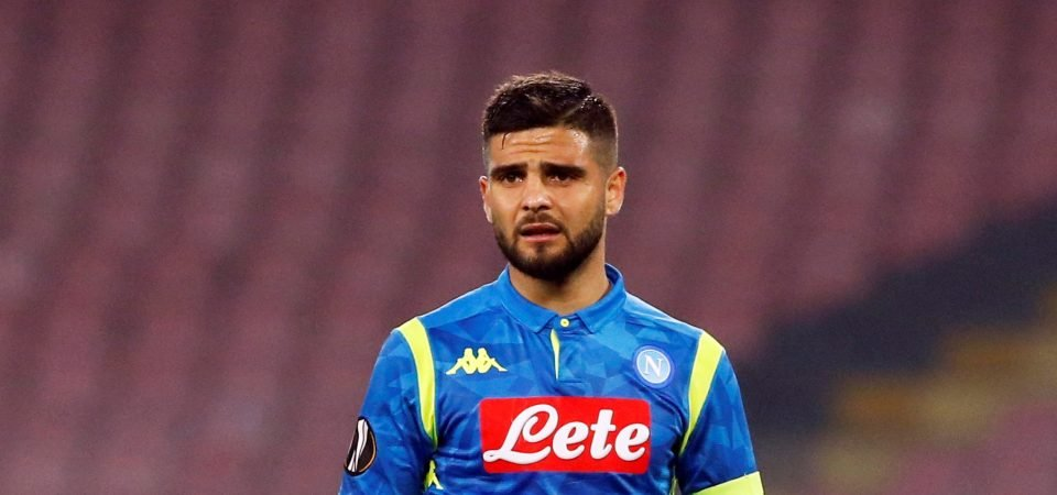 Leave him in Naples: Liverpool fans aren't keen on move for Lorenzo Insigne