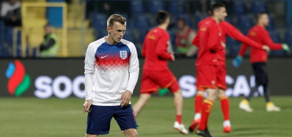 Southampton fans not happy as James Ward-Prowse remains on the England bench