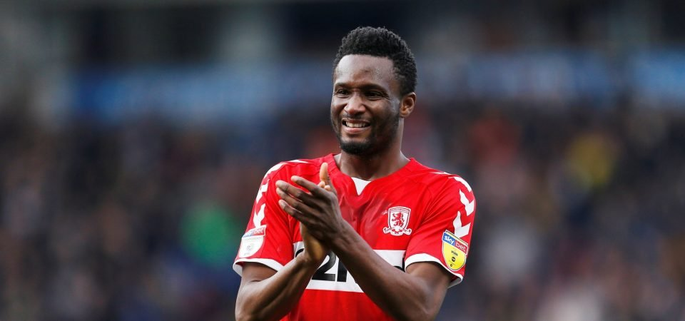 Obi Mikel admits China move was a mistake
