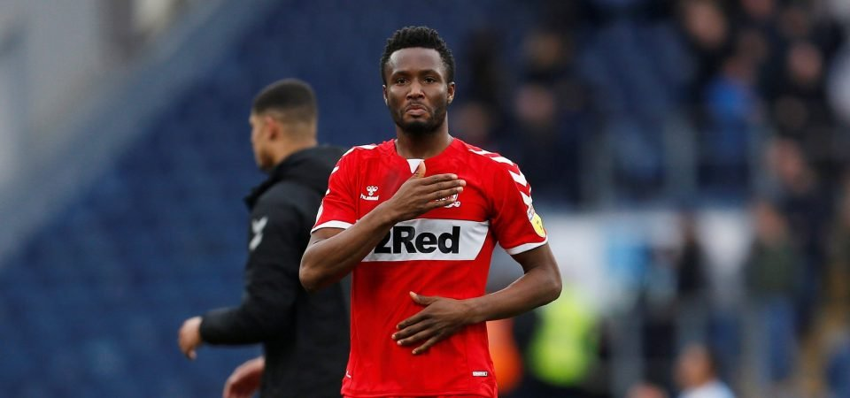 What are your plans? Middlesbrough fans need to know what is happening with John Obi Mikel