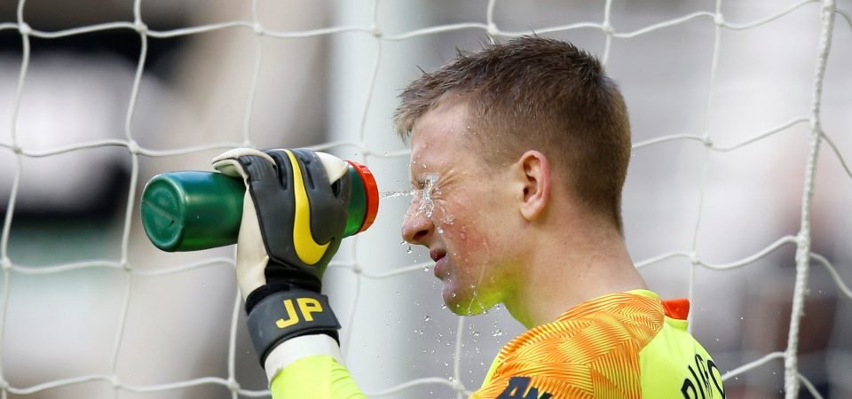 Everton fans on Twitter react as Jordan Pickford is picked by England