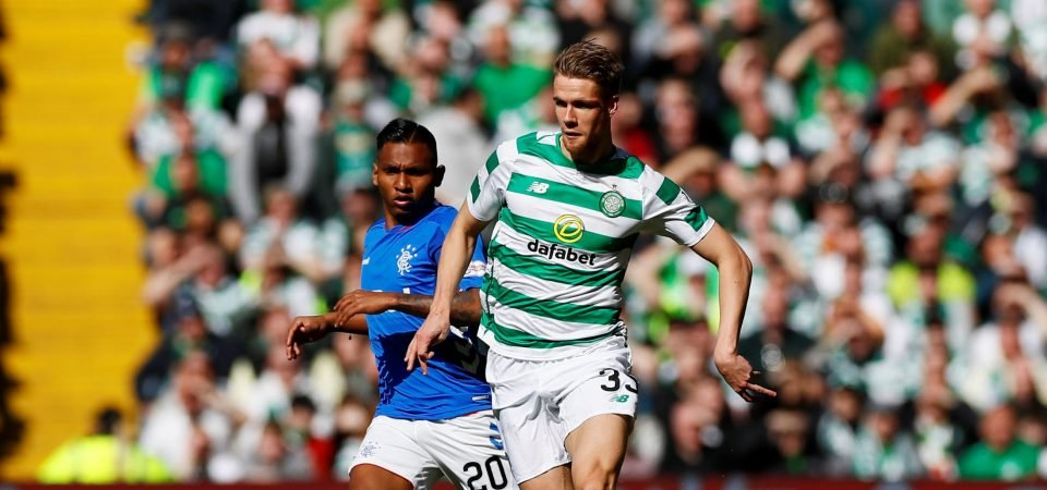 Celtic fans heap praise on Ajer as defender turns 21
