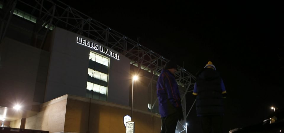 Leeds fans pay tribute to Bill Fotherby