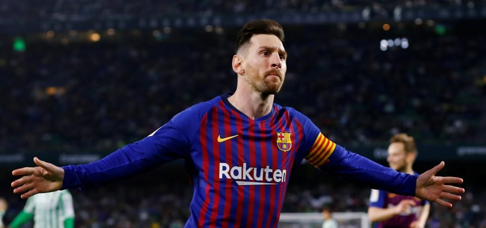 Manchester City fans give mixed reaction to Messi links