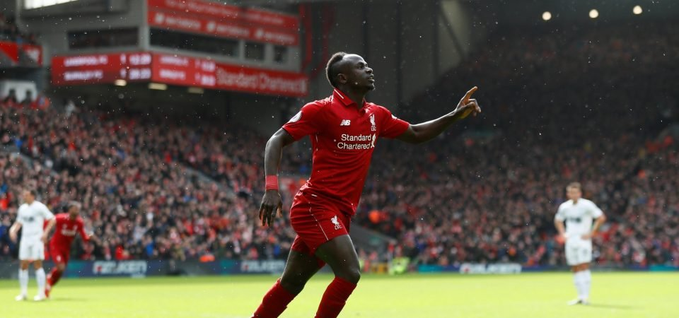 Proving his worth: Sadio Mane stepping up to the mantle at crucial time for Liverpool