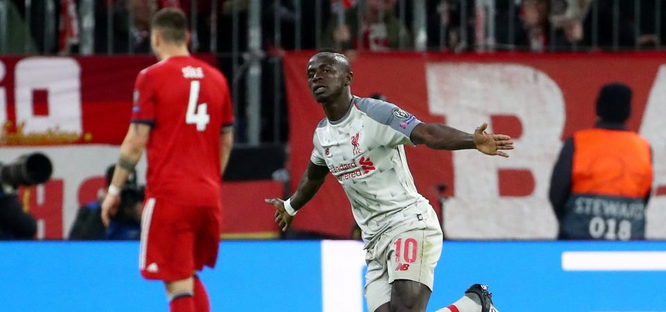 Man of the moment: Liverpool fans laud Sadio Mane as he keeps his remarkable form up