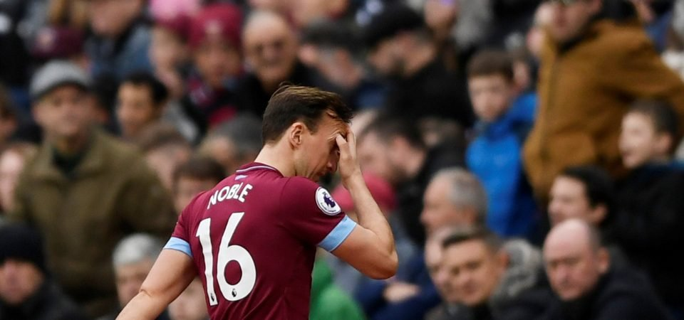West Ham fans snap up chance to criticise Mark Noble
