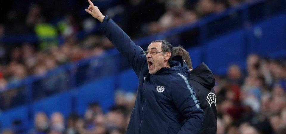 Chelsea fans react to contentious Maurizio Sarri comments on Callum Hudson-Odoi