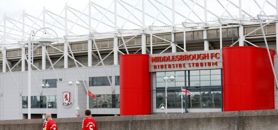 Middlesbrough fans respond to Steve Gibson's complaint to the EFL