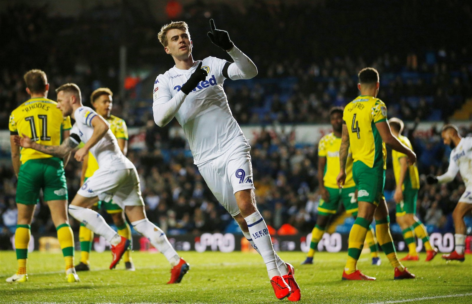 Norwich City vs Leeds United Patrick Bamford - Feature: Huge decision could lie ahead for Bielsa even if Leeds' 6-goal ace becomes an ER hero