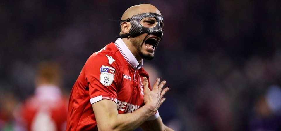Nottingham Forest could have a problem when Yohan Benalouane returns