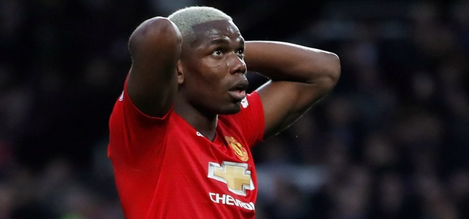 Missing again: United fans slam Pogba after Champions League performance