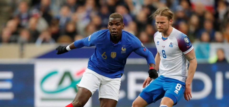 Paul Pogba decides he wants out of Man United this summer in shock turn of events