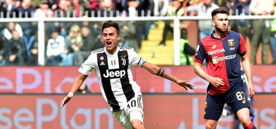Spurs fans thrilled with Paulo Dybala links
