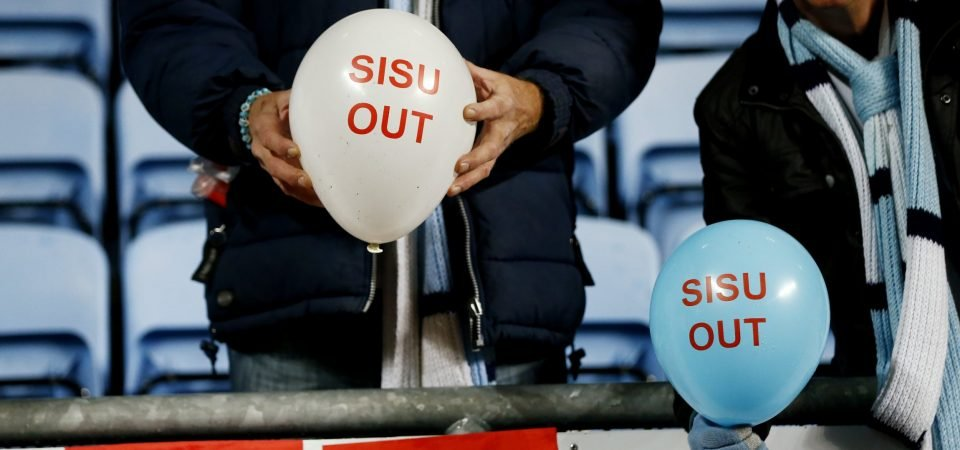 Coventry fans react to SISU statement after takeover bid rejected