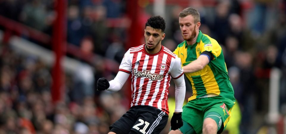 Transfer request incoming: Aston Villa fans react as Brentford reject Benrahma bid