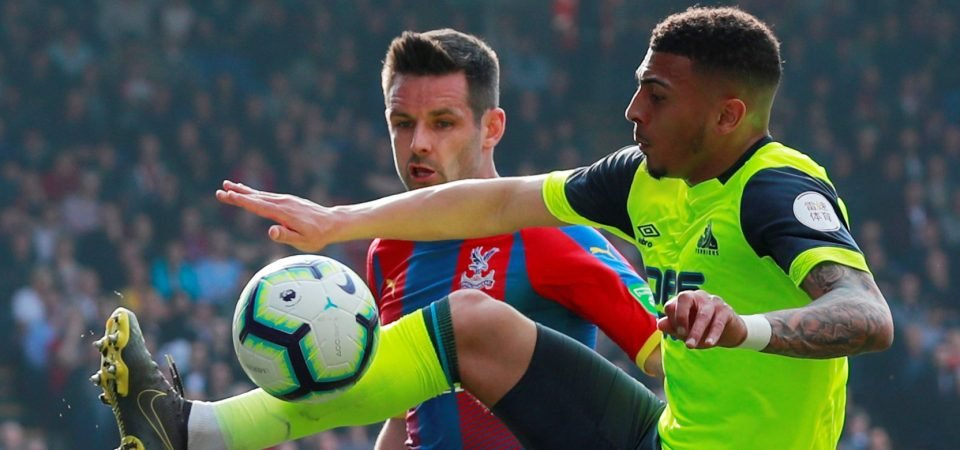 He's finished: Crystal Palace fans criticise Scott Dann's performance against Huddersfield