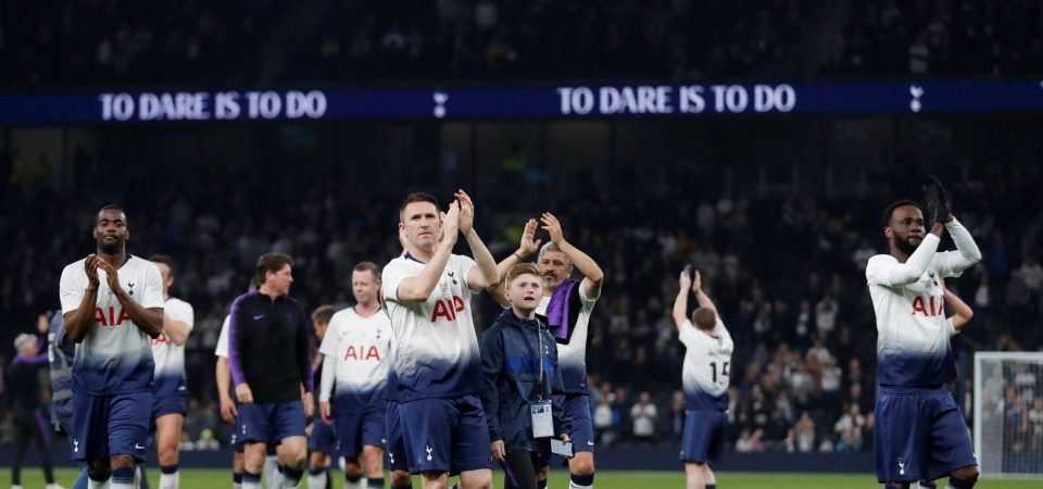 Five most nostalgic moments from Spurs' legends clash