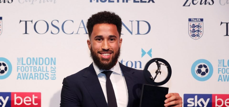 Crystal Palace fans react as Andros Townsend wins 'Goal of the Year' award