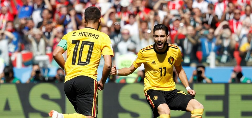 Yannick Carrasco puts Arsenal on alert by stating his intentions to return to Europe
