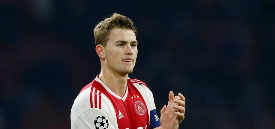 Why not him?! Man United fans want Matthijs de Ligt instead of Samuel Umtiti