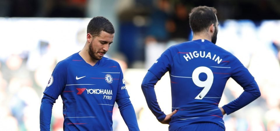 The Chalkboard: Eden Hazard must be played in a 2-man attack to cover Chelsea's lack of pacey strikers