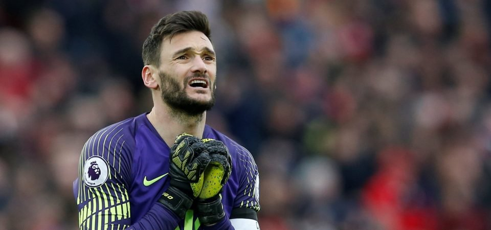 Yet another error: Tottenham fans moan about Hugo Lloris after last-gasp Anfield clanger