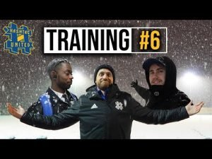 How do you train in the snow?! Hashtag United Training Nights #6