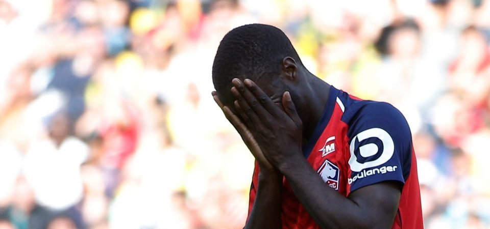 Liverpool's interest in Nicolas Pepe is at a crucial stage after Man Utd talks progress