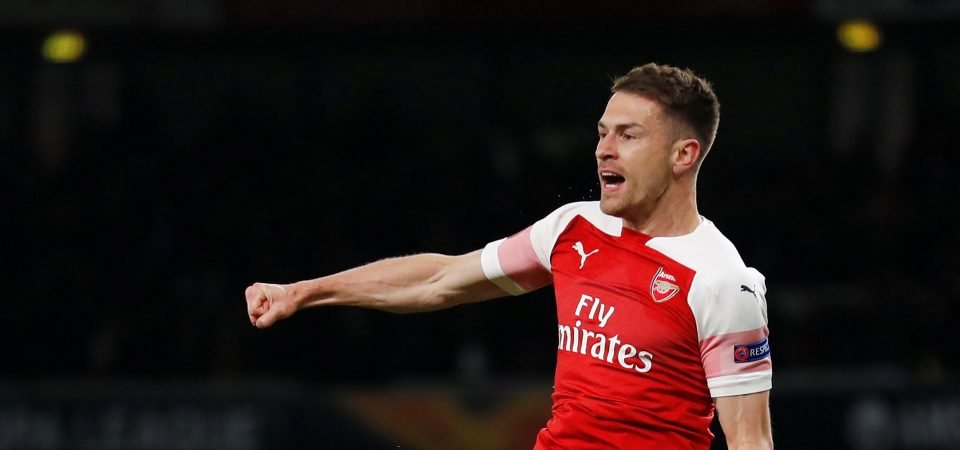 """We love you"" - Arsenal fans react to Ramsey's message ahead of Baku Final"