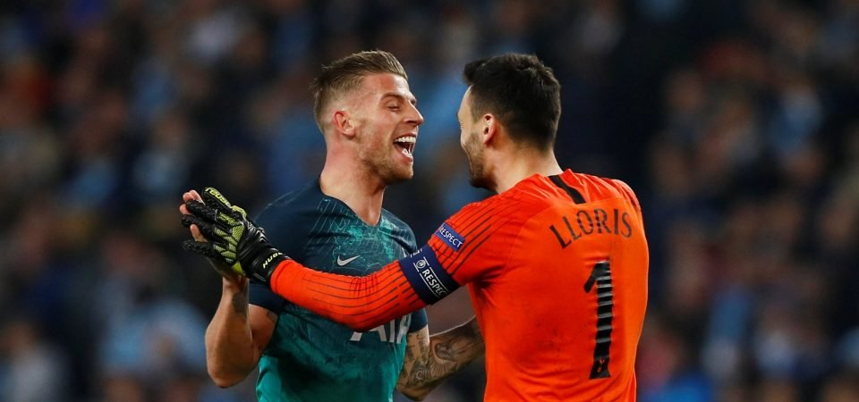 Alderweireld expects to stay at Tottenham