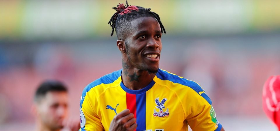Everton move for Wilfried Zaha looking unlikely as alternatives are targeted