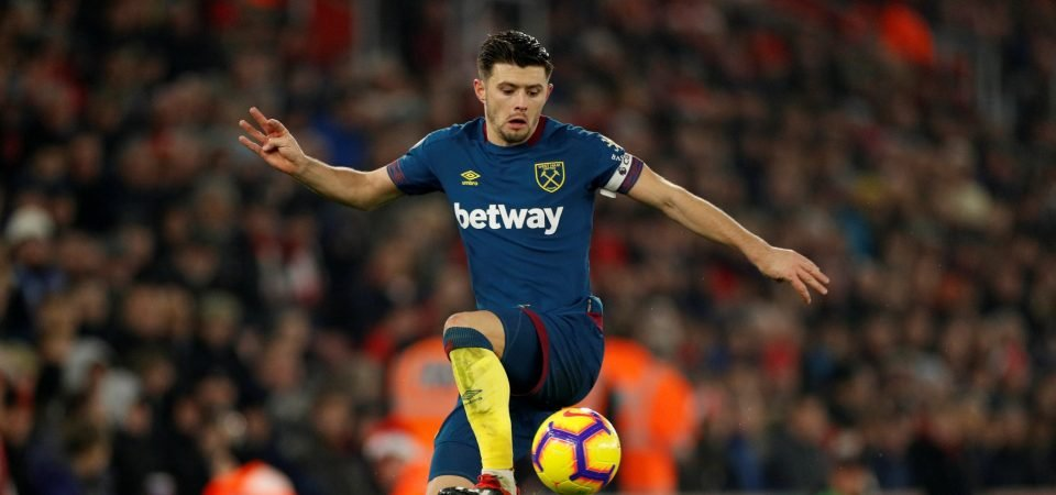 West Ham fans on Twitter laugh off optimistic Aaron Cresswell comments