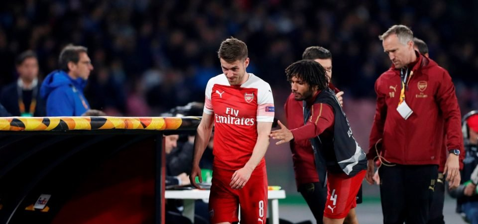 Arsenal's top four hopes left in tatters as Aaron Ramsey stat reveals importance