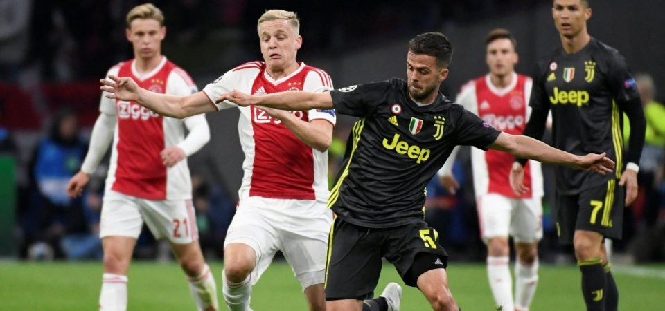 Get it done! Manchester United fans react as van de Beek tipped for move