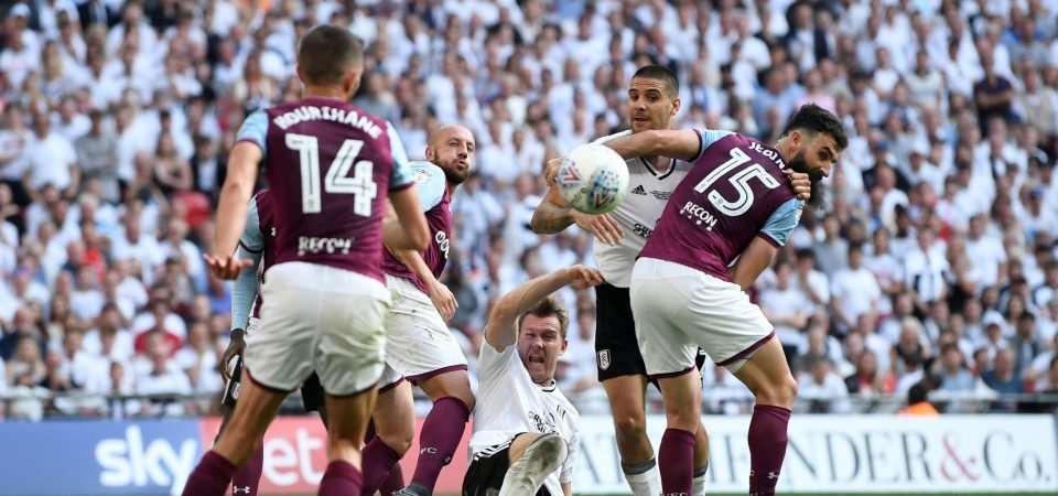 Embarrassing: Aston Villa fans berate Fulham after relegation
