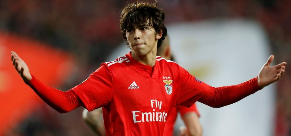 Joao Felix scores hat-trick for Benfica, Man United fans want club to sign him