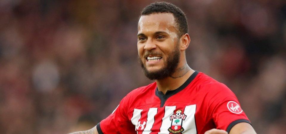 Southampton's Ryan Bertrand shares charity work on Instagram
