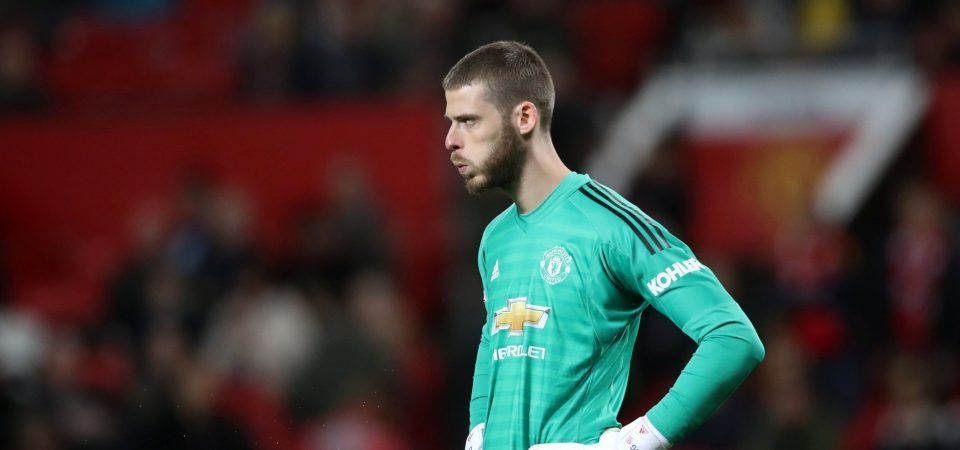He's not interested! Man United fans want David de Gea sold