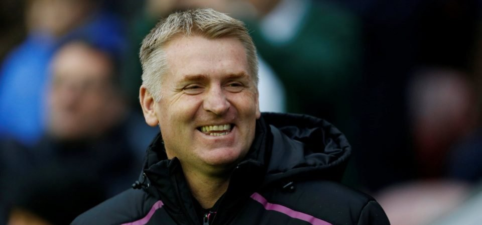 How lovely: Aston Villa fans react to heartwarming chant for Dean Smith's dad
