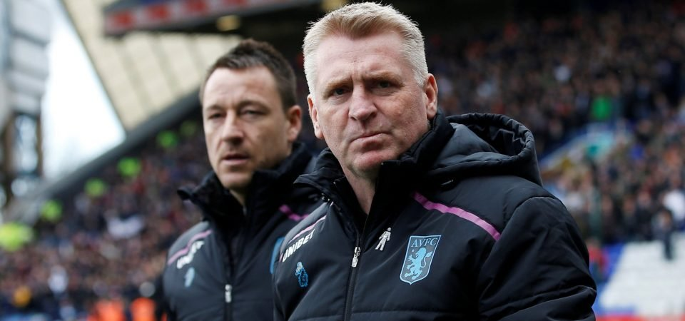 Absolutely beautiful: Aston Villa fans react to rousing message from Dean Smith's mum