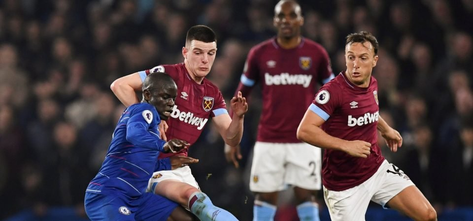 West Ham fans think the midfield is holding the team back from success