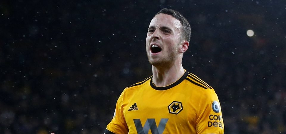 Wolves fans in awe of Diogo Jota after scoring against Manchester United
