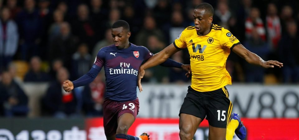 """""""Very sharp"""" - Arsenal fans excited about Nketiah despite defeat"""