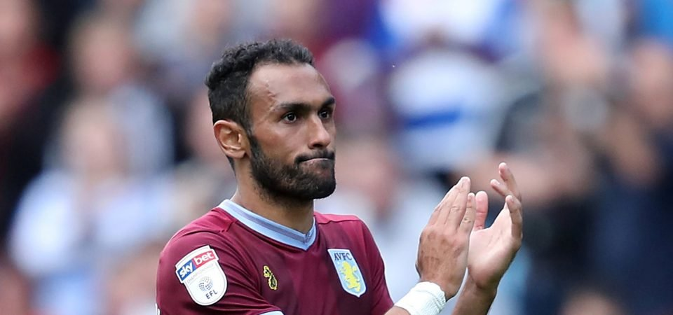 Aston Villa fans delighted with Ahmed Elmohamady after Rotherham victory