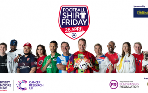 Give a shirt about beating bowel cancer & support the Bobby Moore Fund this Football Shirt Friday!