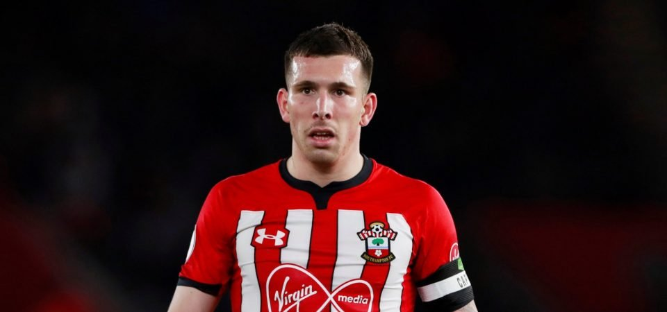 Pierre-Emile Hojbjerg was far below his own high standards in Southampton win