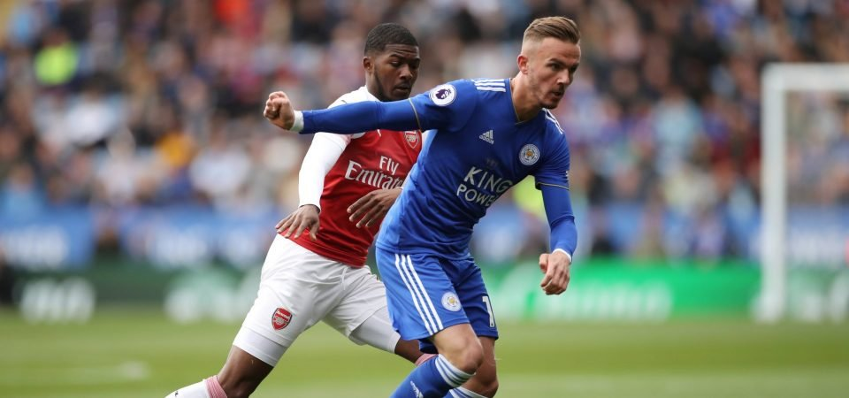 The Chalkboard: Maddison out wide is the way forward for Leicester